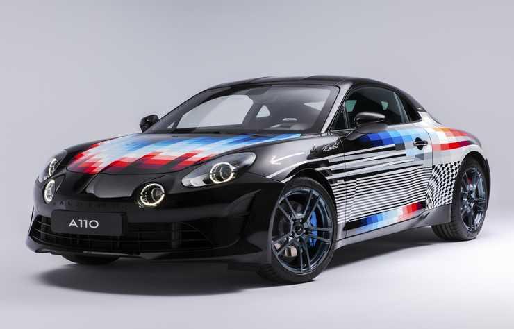 concept car Alpine A110 Felipe Pantone