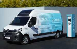 Renault Master ZE à hydrogène, en série en 2022