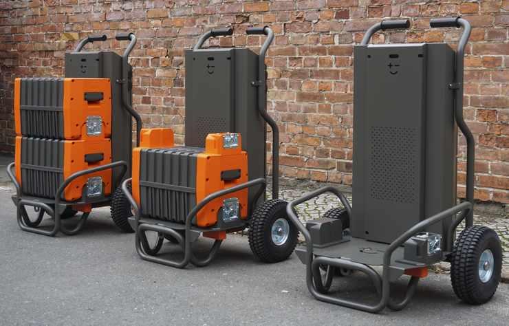 batterie stationnaire mobile de Mobilize en collaboration avec Betteries