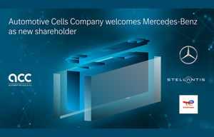 Production de batteries: Mercedes s'associe à Stellantis et Total