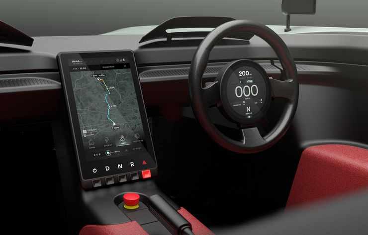Concept-car électrique anglais Aura
