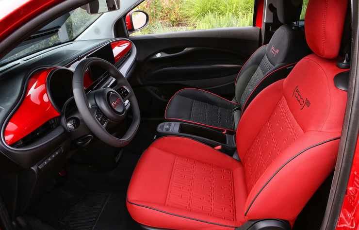 Fiat 500 électrique Red