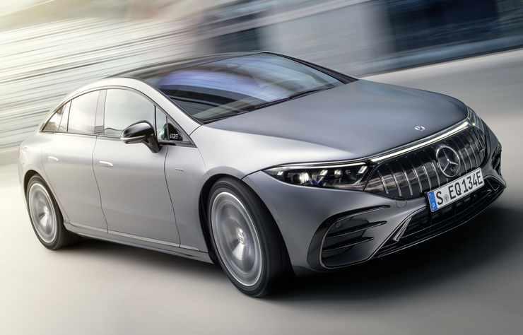 Mercedes-AMG EQS 53 4MATIC+ électrique