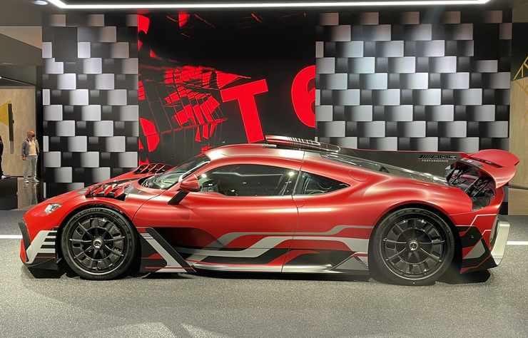 Concept Mercedes AMG ONE au salon de Munich 2021