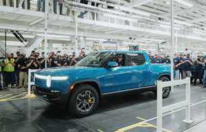Rivian R1T, le premier pick-up électrique en production