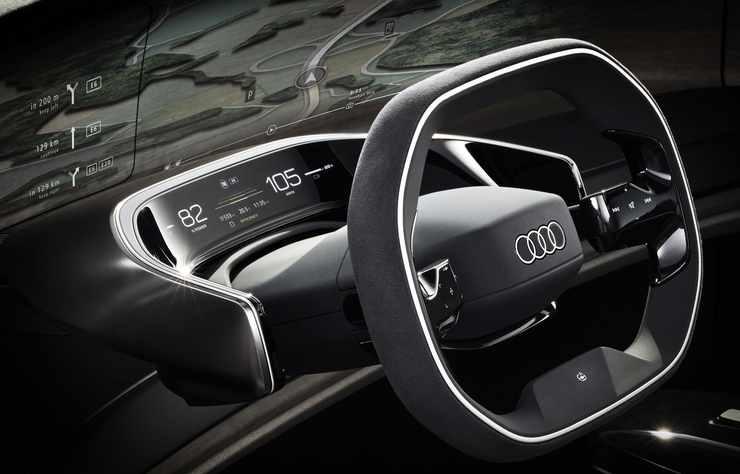 concept électrique Audi grandpshere