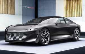 Audi grandsphere concept, un jet privé pour la route