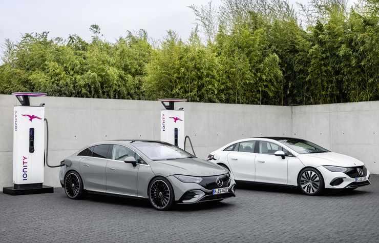 Mercedes EQE électrique