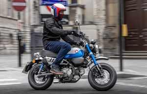 Honda Monkey, aux dernières normes mais toujours refroidie par air