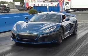La Rimac Nevera officiellement la voiture qui accélère le plus fort