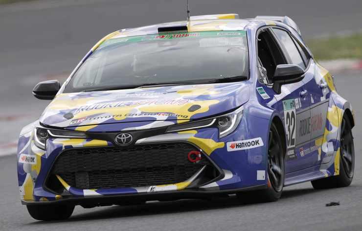 Toyota Corolla de compétition à hydrogène