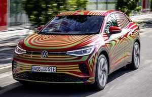 Volkswagen ID.5, premiers clichés du crossover coupé