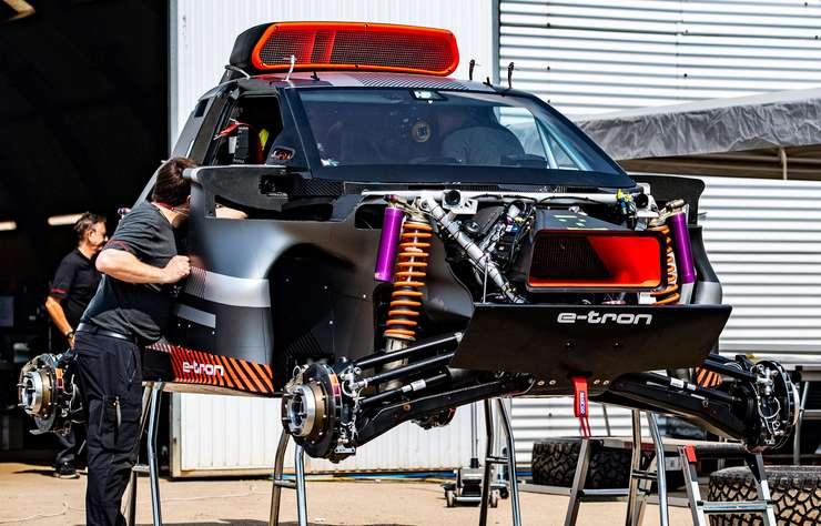 Audi RS Q e-tron électrique à prolongateur d'autonomie