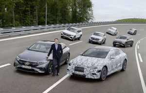 Mercedes aussi va devenir tout électrique