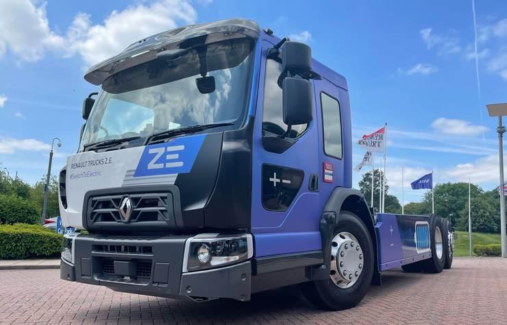Poids lourd électrique Renault Trucks ZE