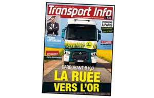 Le magazine Transport Info fait sa une sur le Biodiesel B100