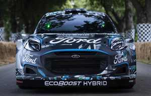 Ford Puma Rally1 WRC, l'hybride pour la compétition routière