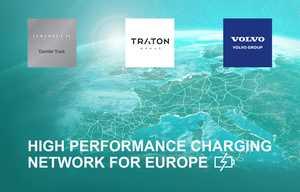 MAN, Mercedes, Scania et Volvo réunis pour des bornes de recharge pour poids lourds