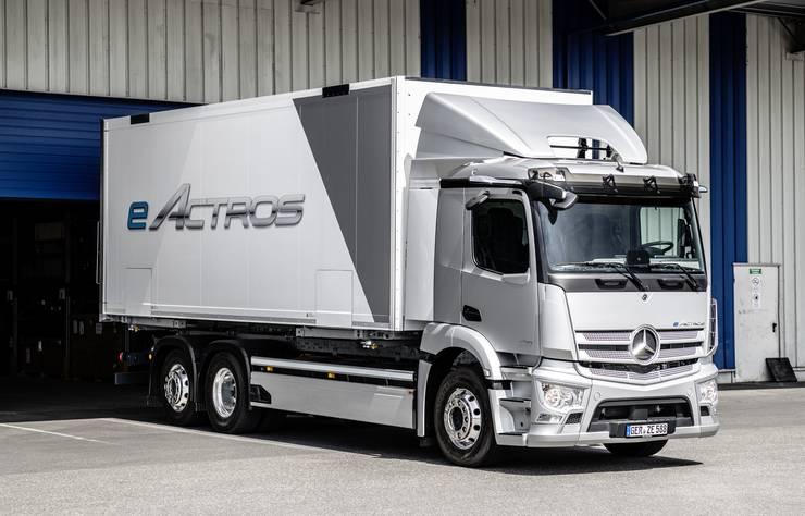 Mercedes eActros poids lourd électrique