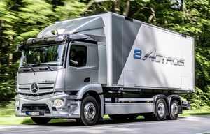 Mercedes eActros, le premier poids lourd électrique de série
