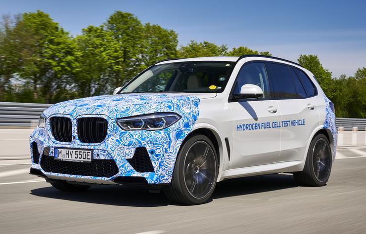 Prototype BMW X5 à hydrogène Hydrogen Next