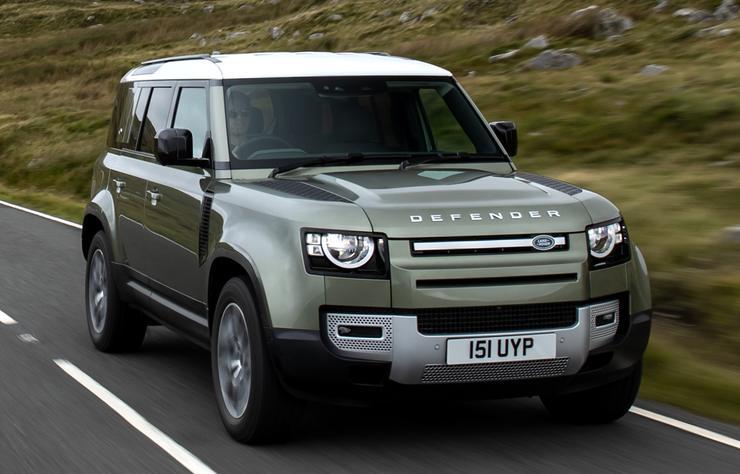 Land Rover électrique à hydrogène