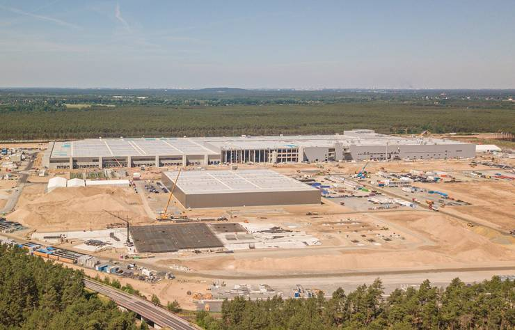 future usine Tesla de Grunheide