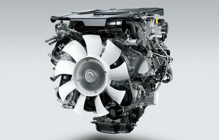 nouveau moteur V6 diesel Toyota
