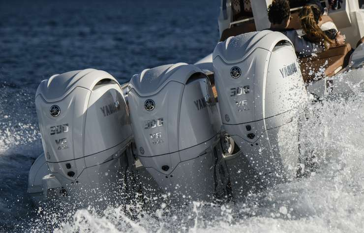 Moteurs de bateau Yamaha