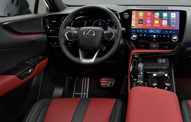 Lexus NX450h hybride rechargeable