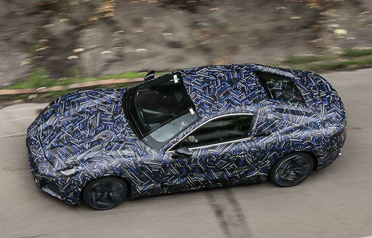 Maserati GranTurismo électrique