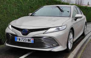 Essai détaillé: Toyota Camry hybride