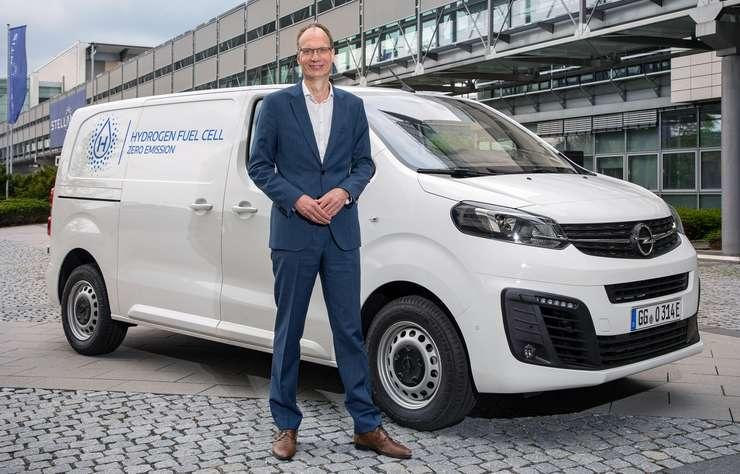 Opel Vivaro-e hydrogène