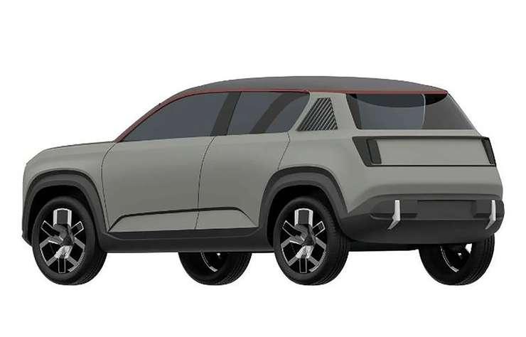 Esquisse future Renault 4