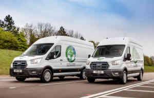 Ford teste en Europe ses E-Transit électriques