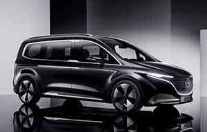 Mercedes classe T et EQT électrique, le plus beau des Kangoo