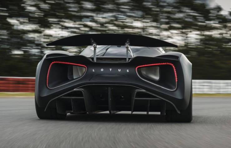 hypercar électrique Lotus Evija