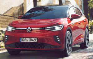 ID.4 GTX, le SUV électrique de Volkswagen devient sportif