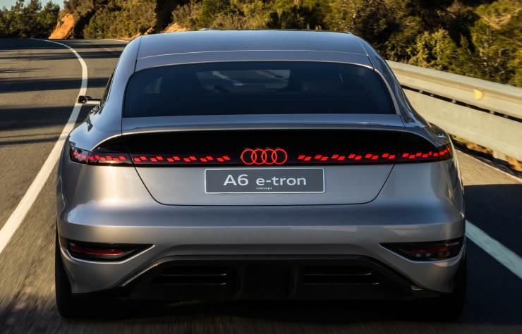 Concept Audi A6 e-tron électrique