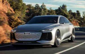 Audi A6 e-tron concept, à côté de l'A6 essence