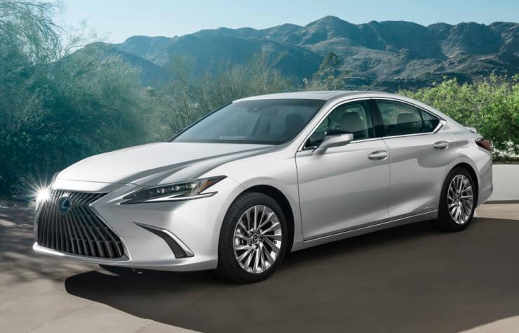Lexus ES hybride
