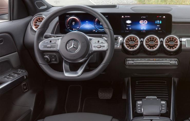 Mercedes EQB électrique
