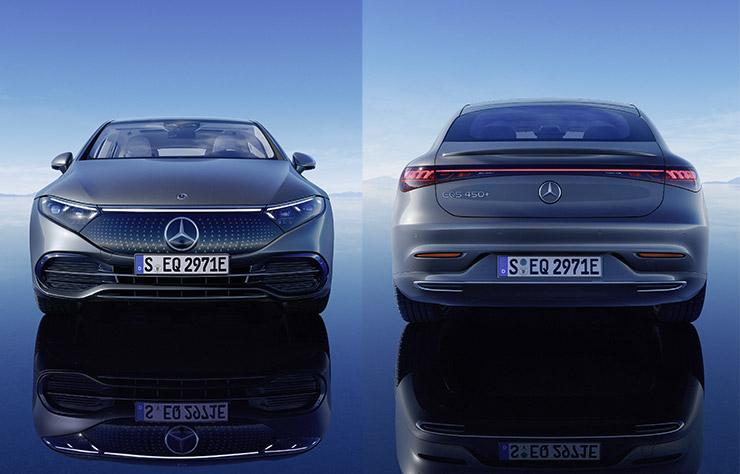 Mercedes EQS électrique