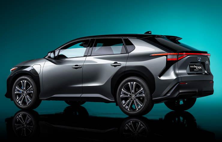 Concept Toyota BZ4x électrique