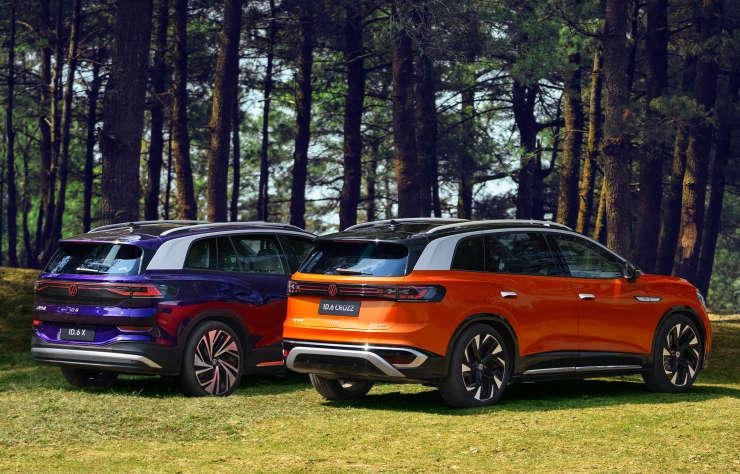 Volkswagen ID.6 électrique pour la Chine