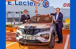 A la location chez Leclerc, la Dacia Spring électrique est plus chère qu'une Twingo