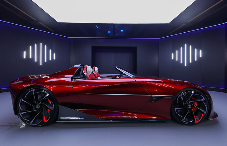 Concept électrique MG Cyberster