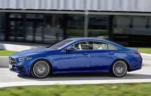 Mercedes CLS: le diesel toujours compétitif