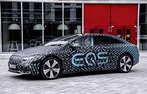 Mercedes EQS, les chiffres de cette électrique d'exception