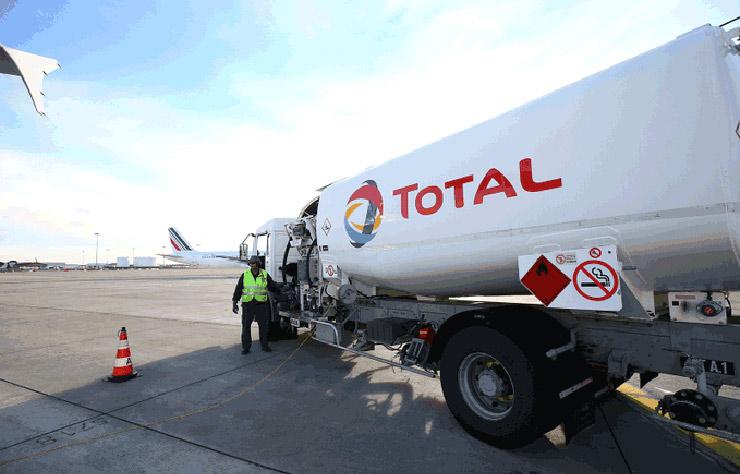 Total fournisseur de carburant recyclé, du biokérosène, pour les avions